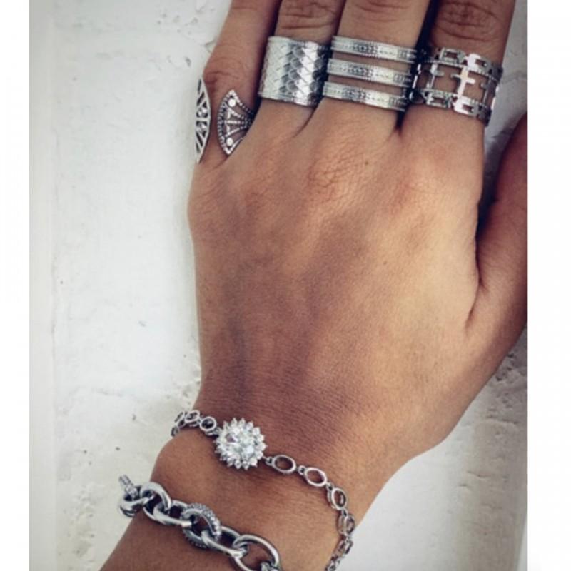 Makkon Starley Ring(ρυθμιζόμενο)