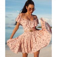 ''Blossom'' φόρεμα με ζώνη